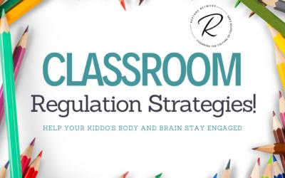 Classroom Regulation Strategies